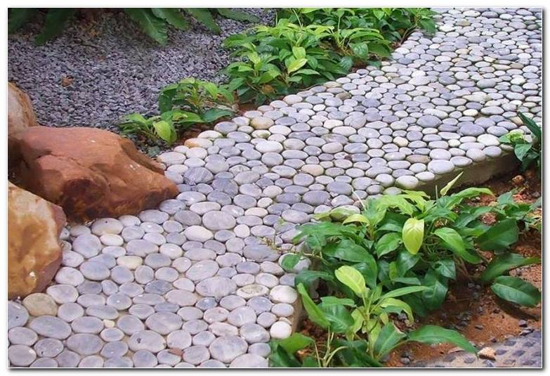 Senderos Camino Disenos Jardin Piedras Pequenas Ideas