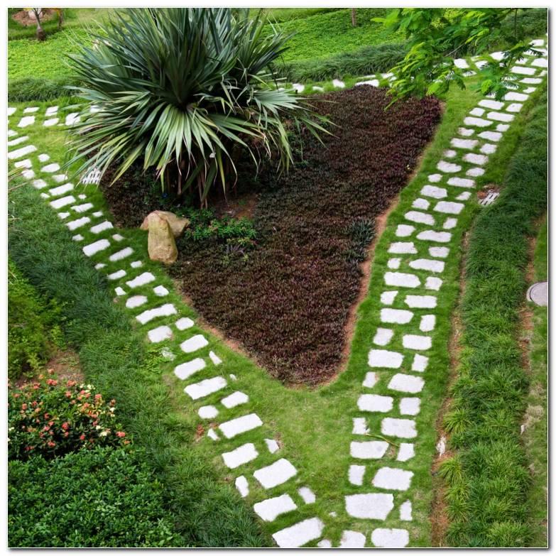 Senderos Camino Jardin Forma Triangulo Ideas