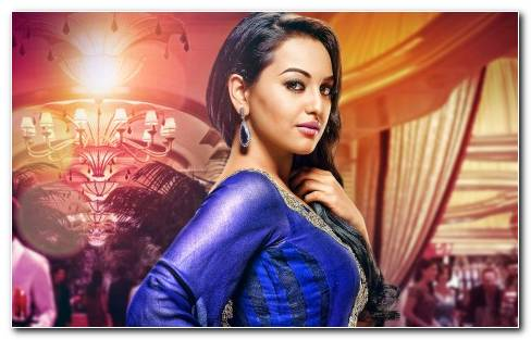 Sonakshi Sinha Indian Actress Wide