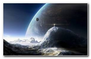 Space Cosmos In 3d Wallpaper