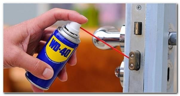 Spray Wd 40 Trucos Utiliza Cerradura Puerta