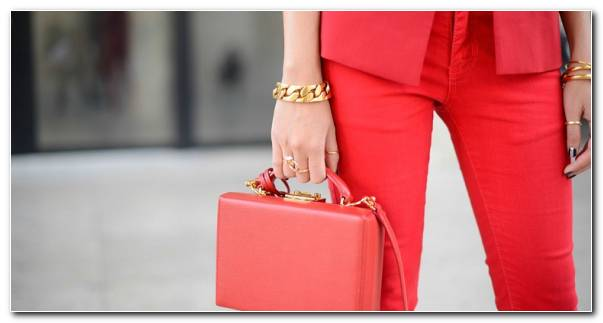 Tendencias Moda Color Coral Estilo Bolso