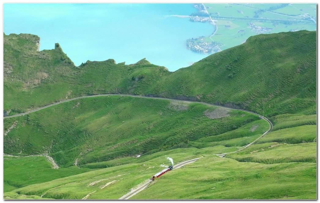 train on the wavy road hd wallpaper