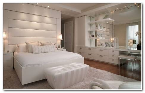 White Bedroom Hd Wallpaper