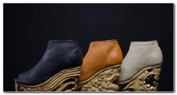 Zapatos De Mujer Tallados Madera