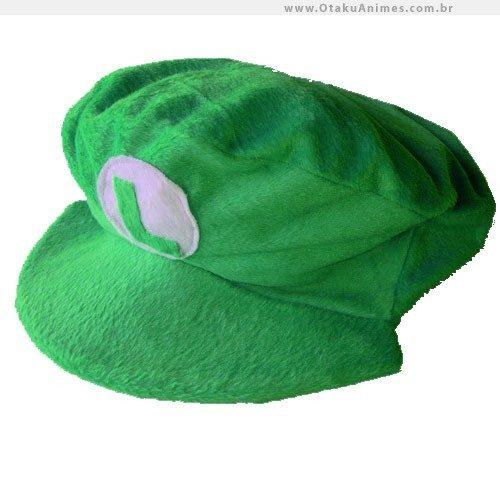 b127ef69cc8d5 Boina Luigi Super Mario Bros