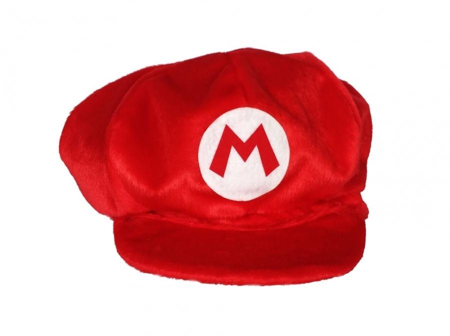 Boina Super Mario Tecido Soft