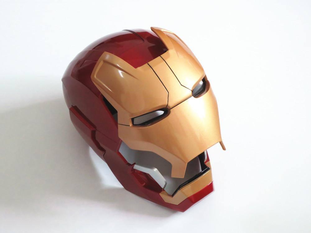 Capacete Iron Man Mark 42 com Acervos Motores e Led