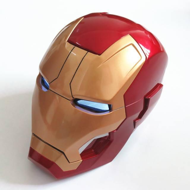 Capacete Iron Man Mark 42 com Led