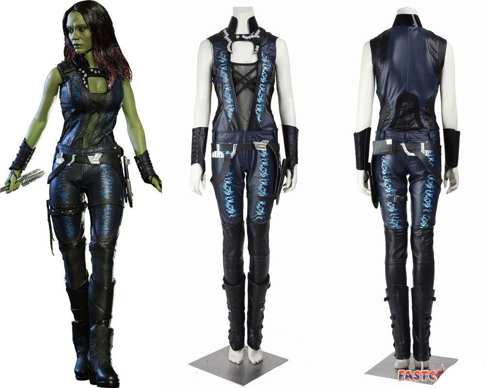 Cosplay Gamora Guardiões da Galaxia