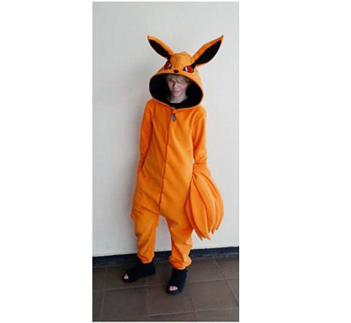 Cosplay Kigurumi Kyuubi Naruto