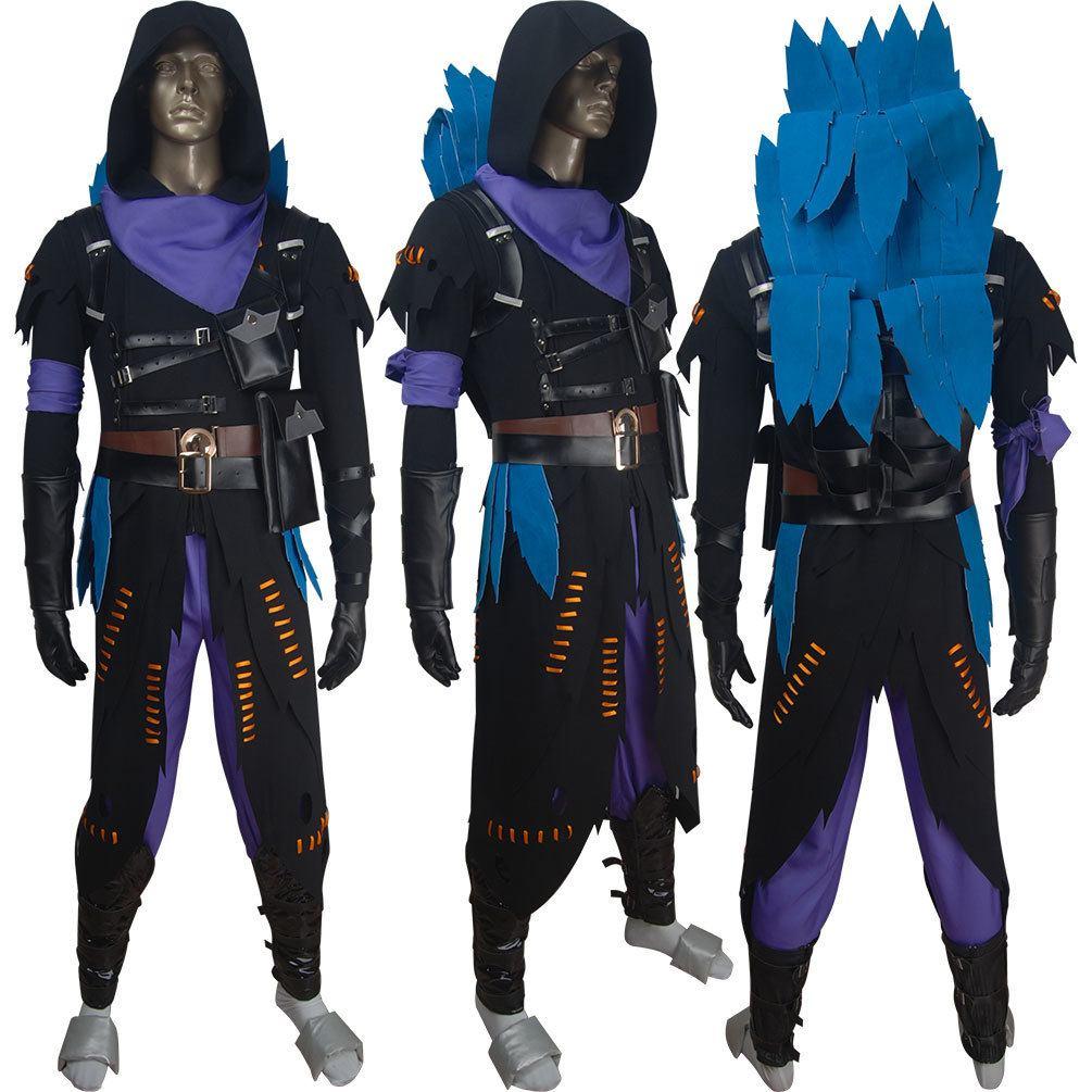 Cosplay Raven Fortnite