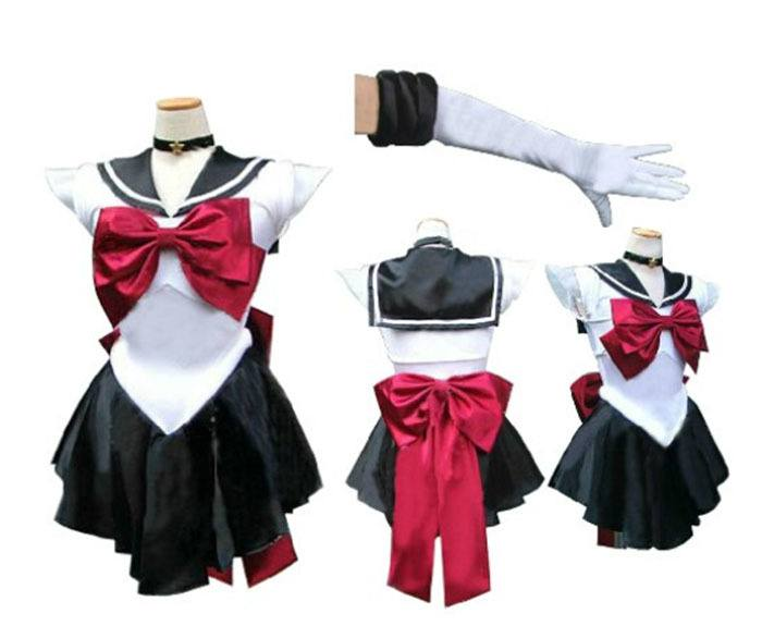 COSPLAY SAILOR PLUTÃO - SAILOR MOON