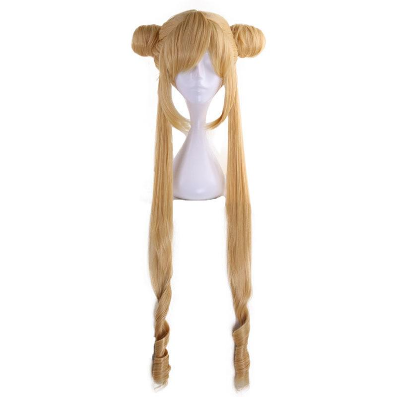 Peruca Cosplay Tsukino Usagi Sailor Moon