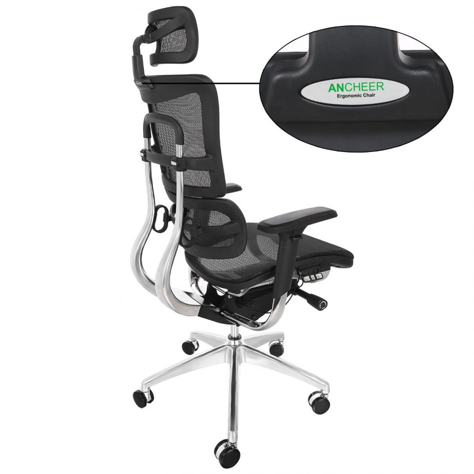 Chairs Office Chair Without Wheels Ergonomic With Lumbar Support within dimensions 970 X 970