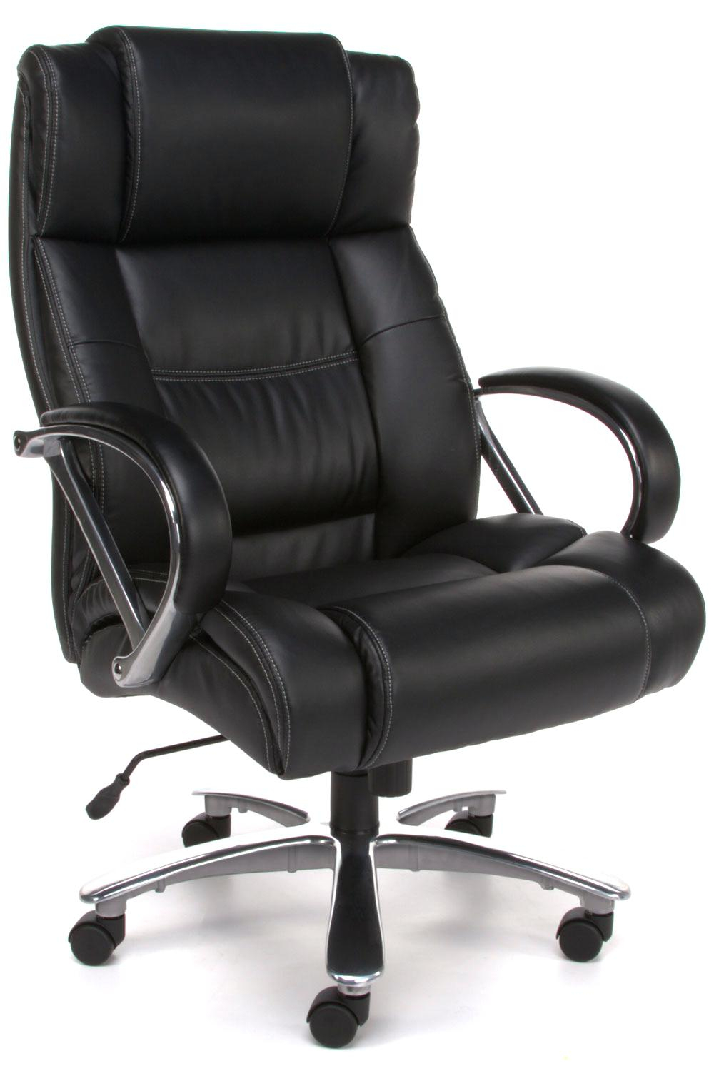 Desk Chairs Large Exercise Ball Desk Chair Black Leather Office for proportions 1000 X 1500