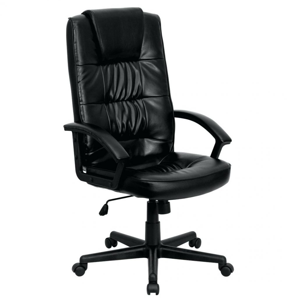 Desk Chairs Large Exercise Ball Desk Chair Black Leather Office intended for sizing 1030 X 1030