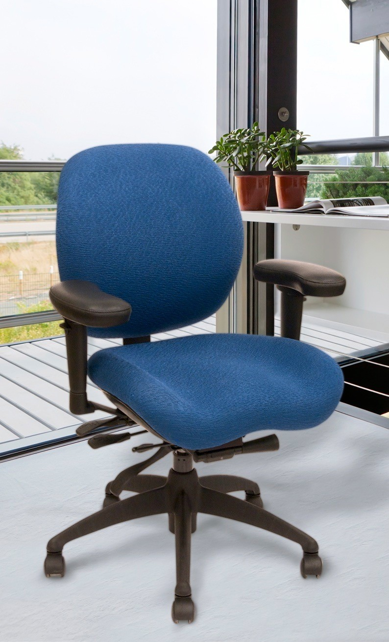 Lifeform Memory Foam Office Chair Relax The Back in proportions 794 X 1309