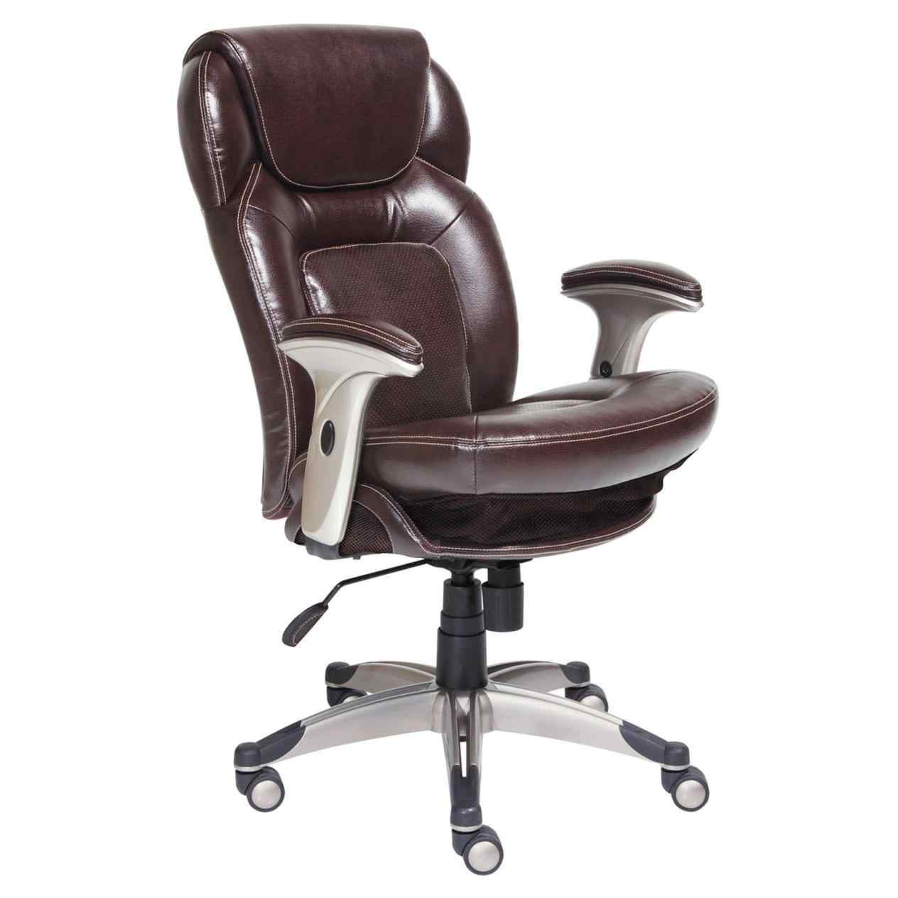Managers Office Chair True Innovations Puresoft Managers Chair Tan throughout dimensions 1264 X 1264