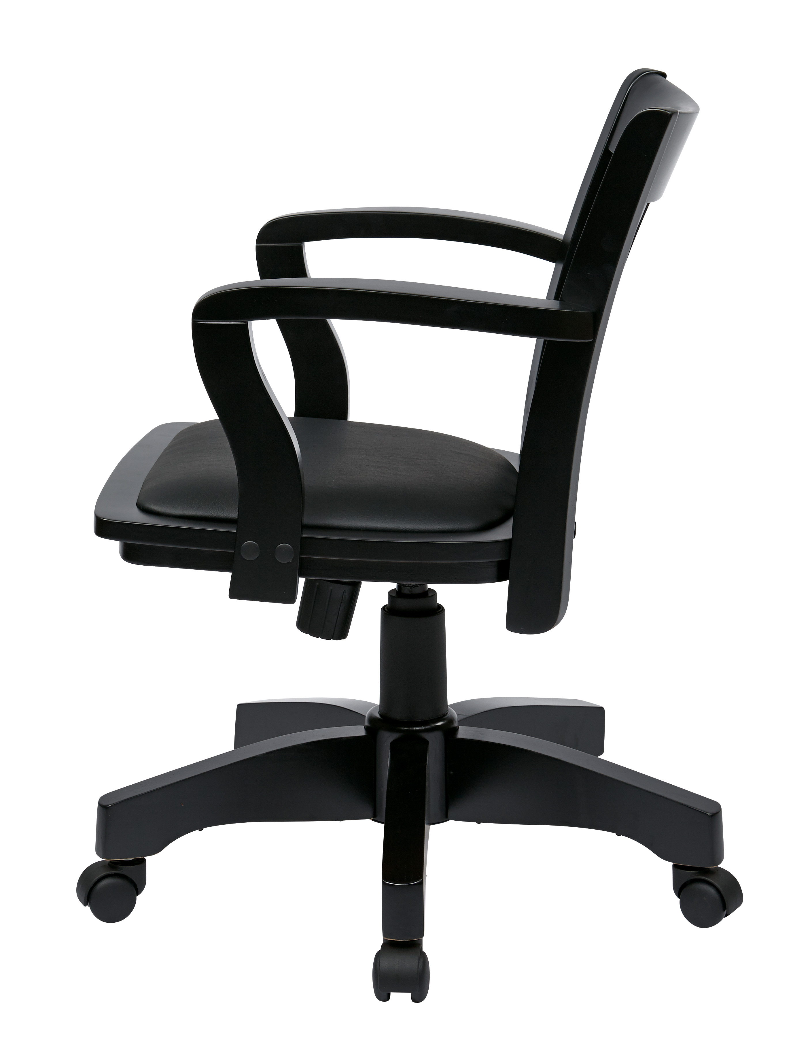 Office Star Deluxe Wood Bankers Chair Office Chairs