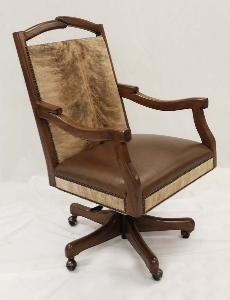 Western Cowhide Office Chairs Office Chairs