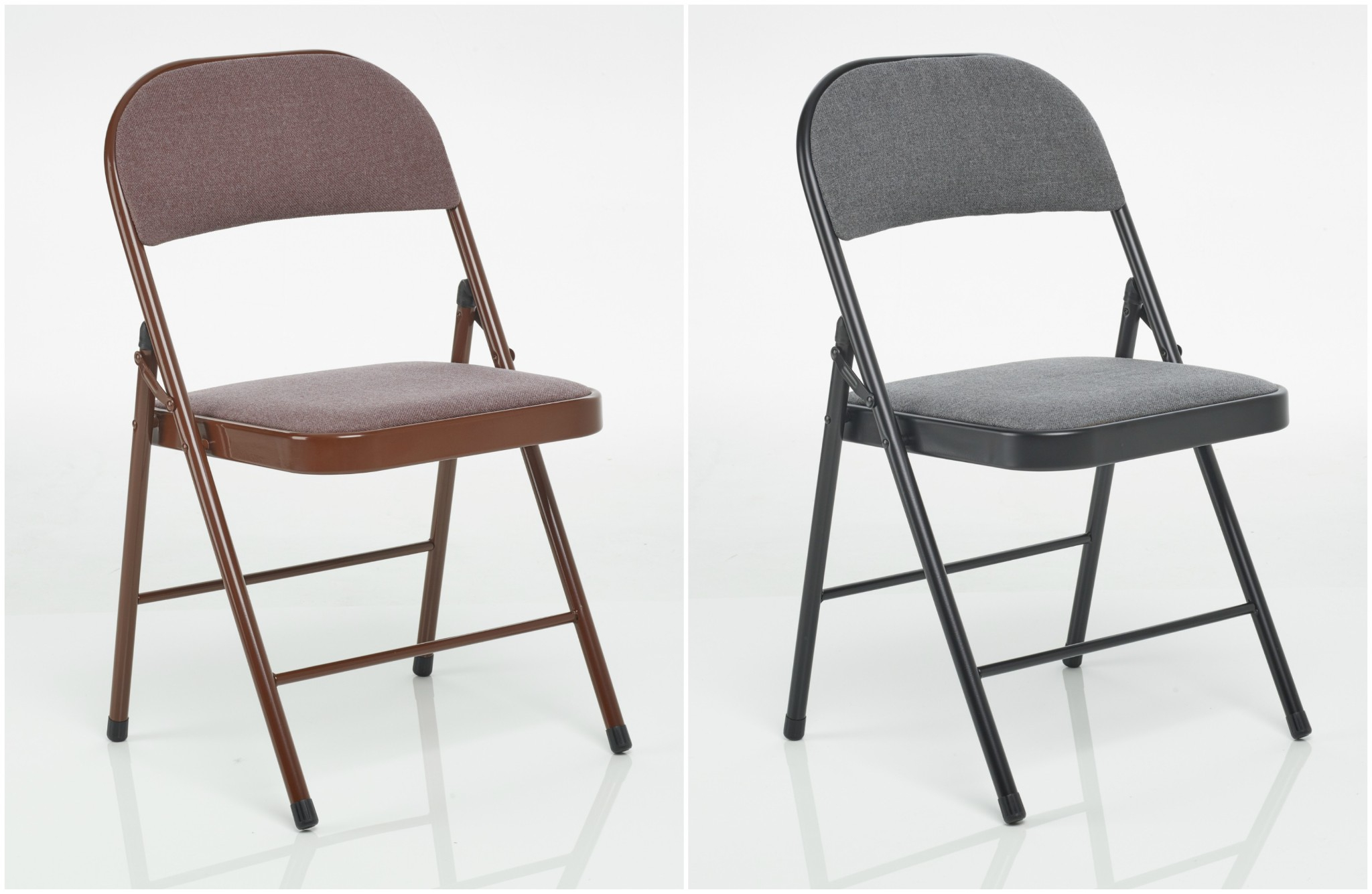 Details About Deluxe Fabric Folding Chair Office Reception Padded Desk Chairs Foldable Storage with regard to size 2048 X 1335