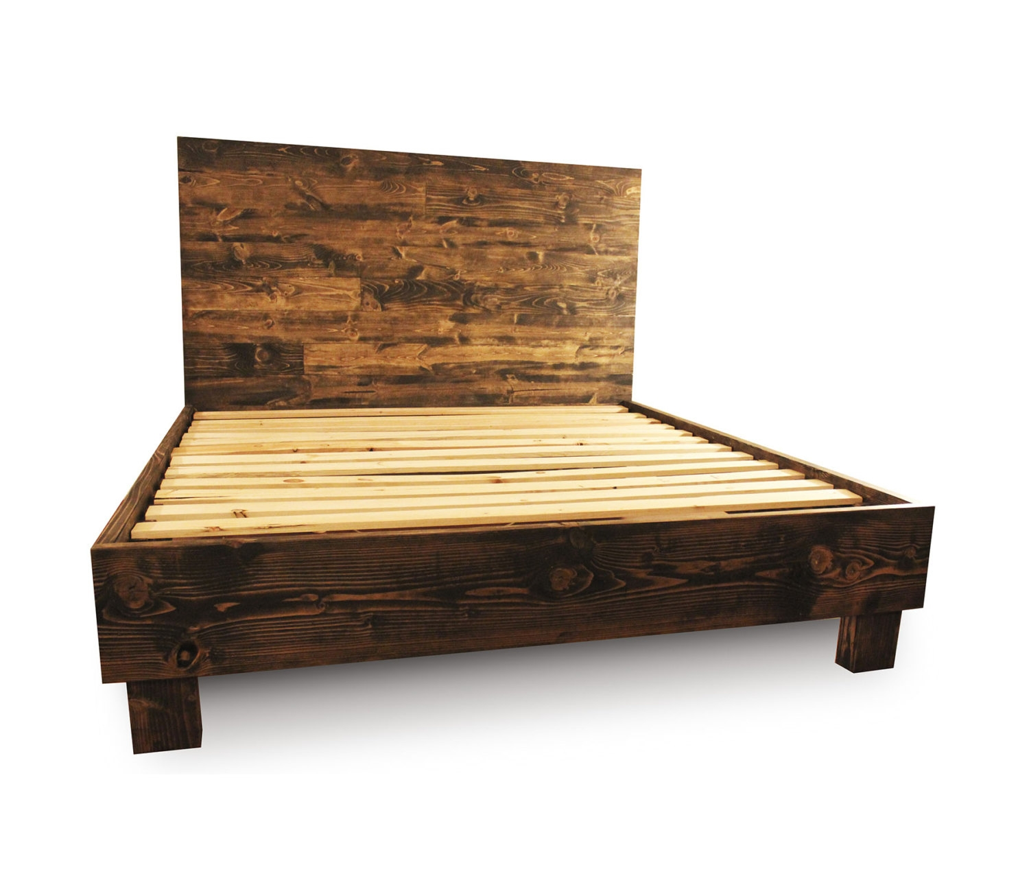 Pictures Of Wooden Bed Frames