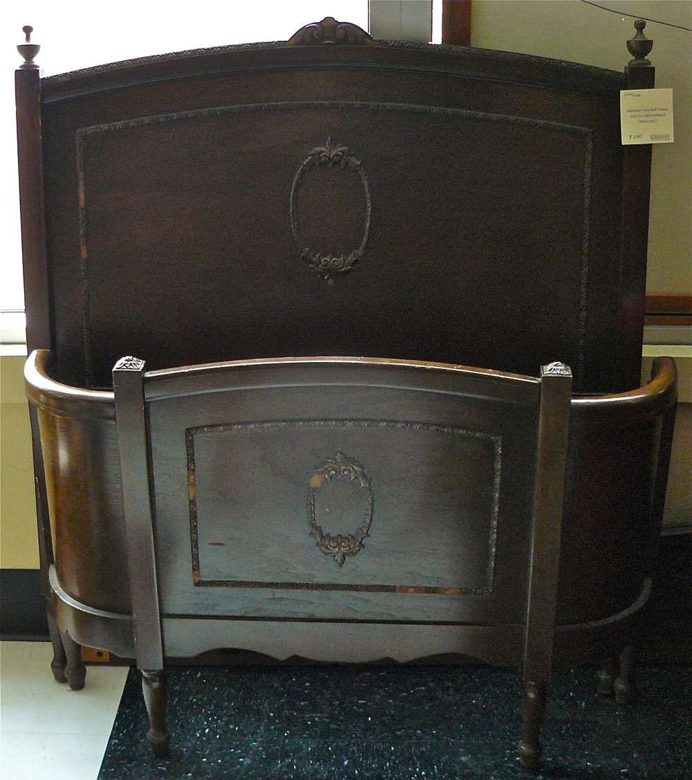 Antique Wooden Twin Bed Frames
