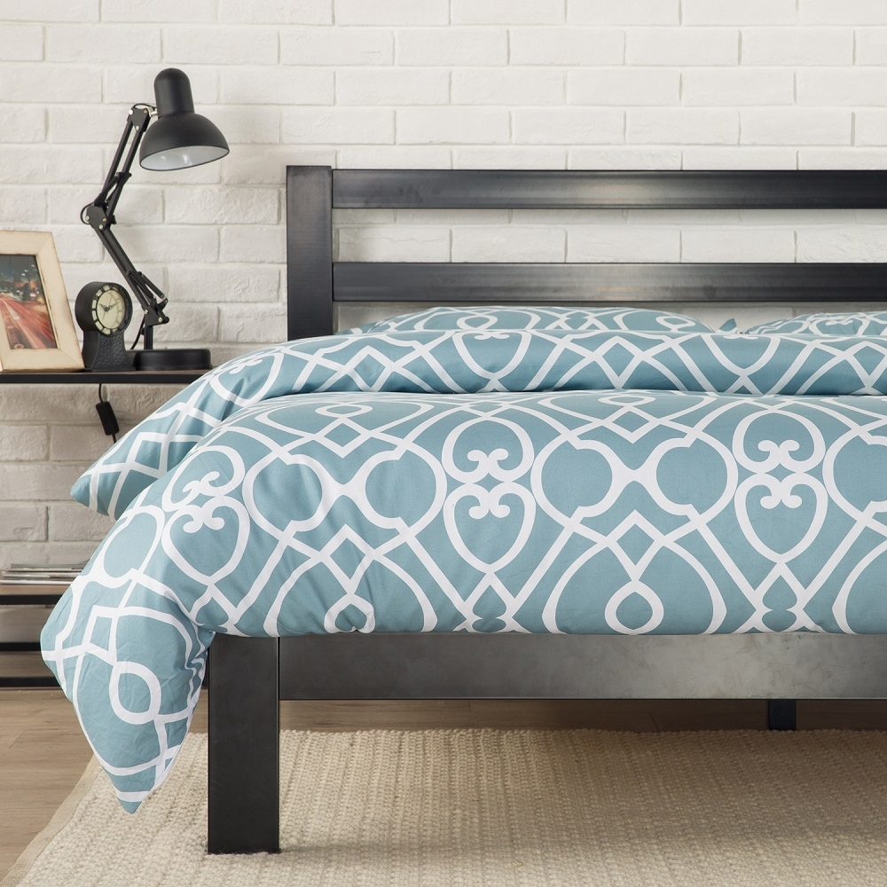 Aqua Metal Bed Frame