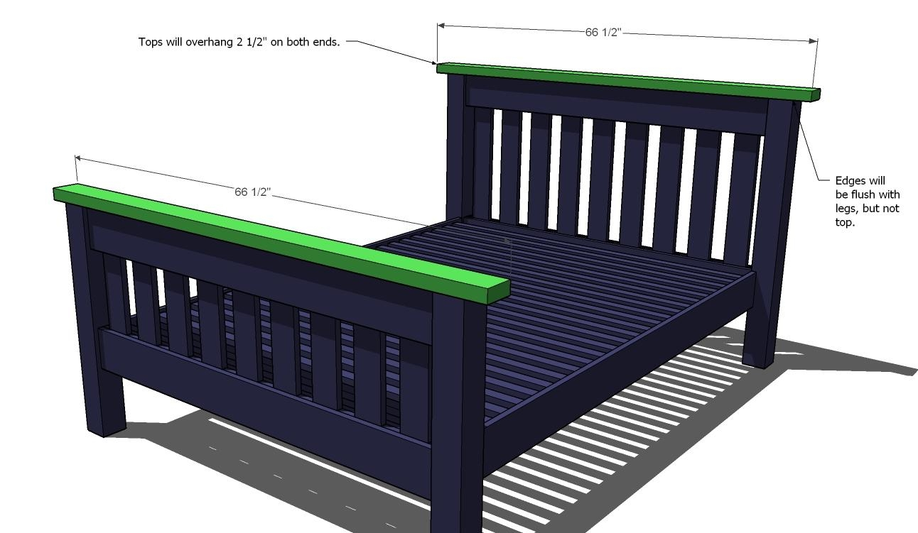 Bed Frame Measurements For Full Size Bed