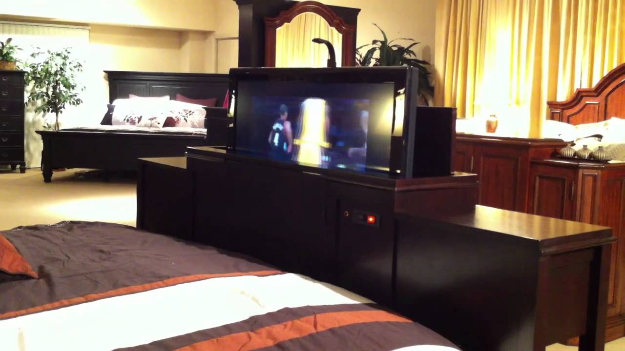 Bed Frames With Tv Lifts