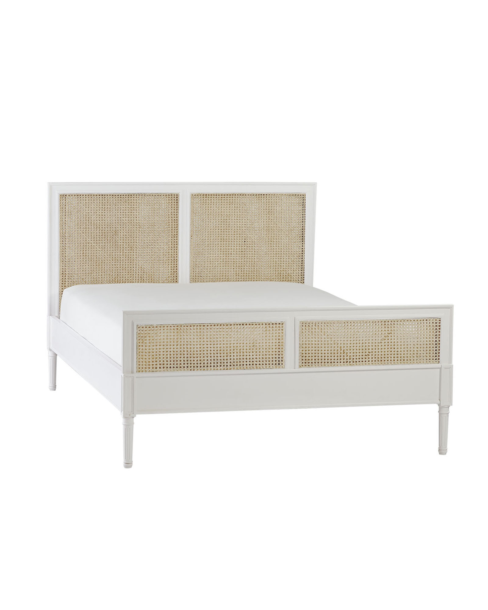Cane Double Bed Frame1600 X 2000
