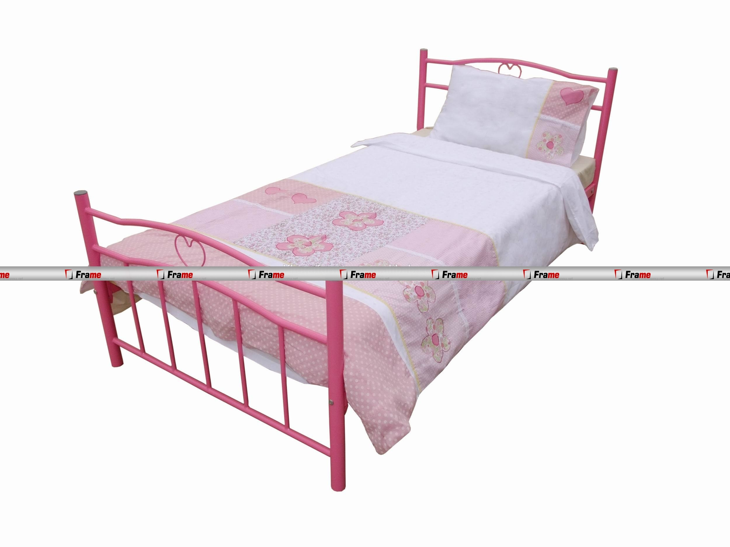 Children's Metal Single Bed Frame