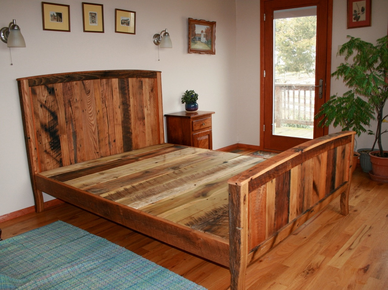 Country Bed Frame Plans1280 X 957