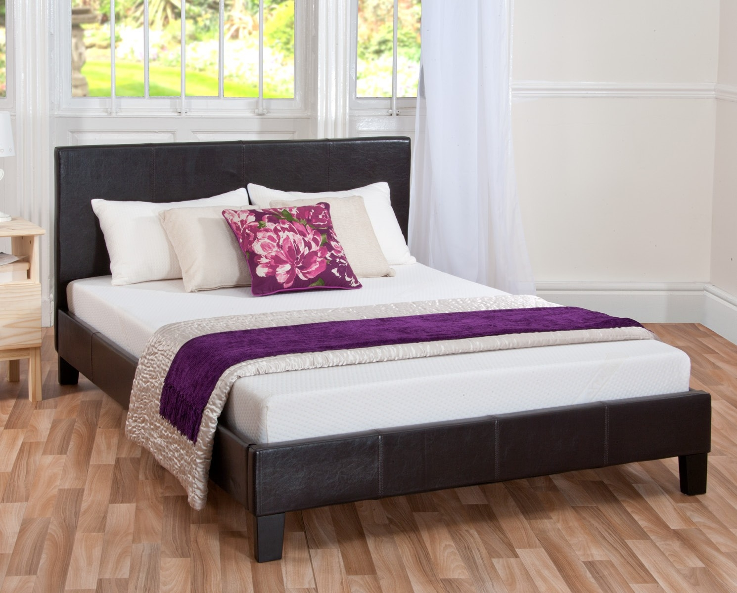 Double Mattress Bed Frame