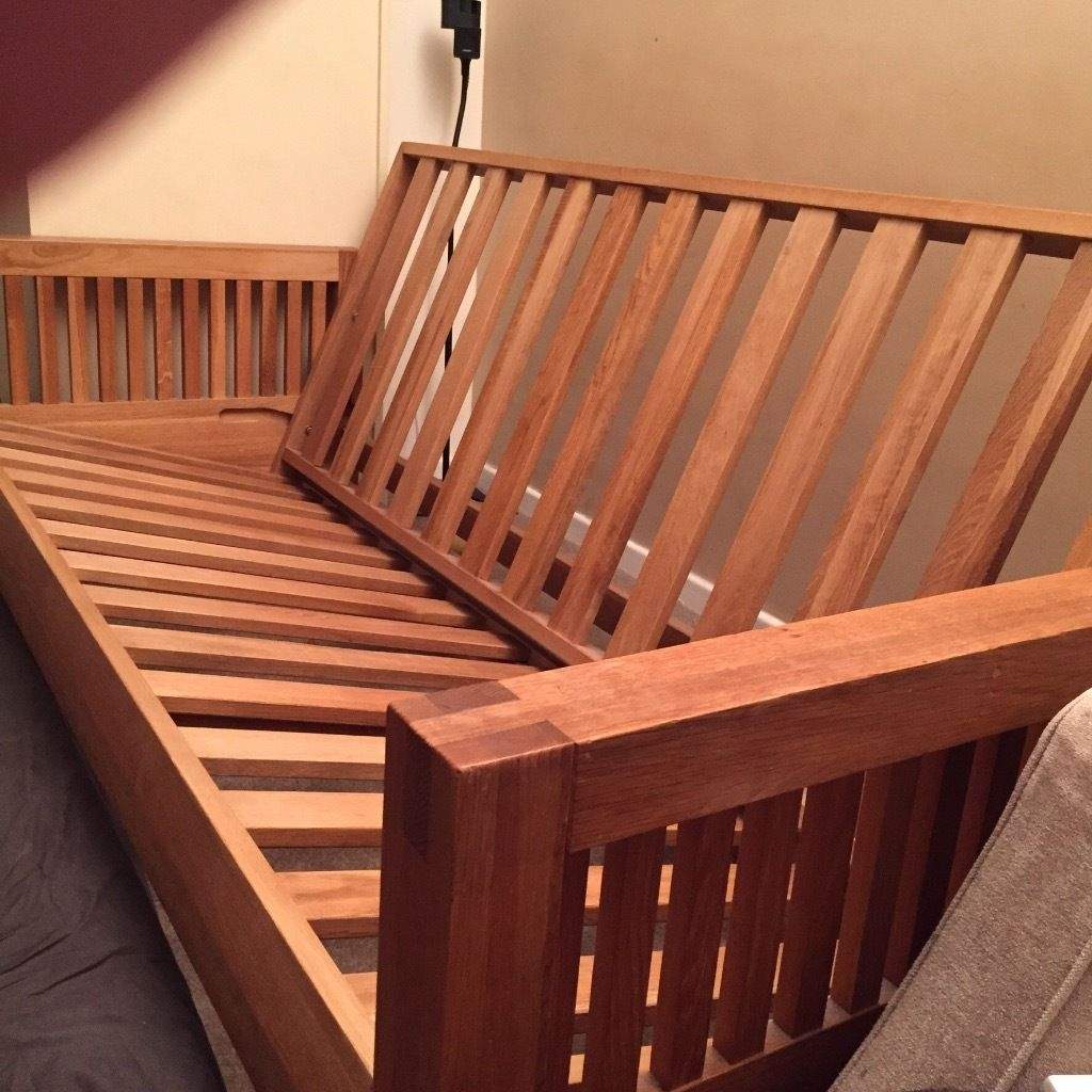 Folding Double Bed Frame Only