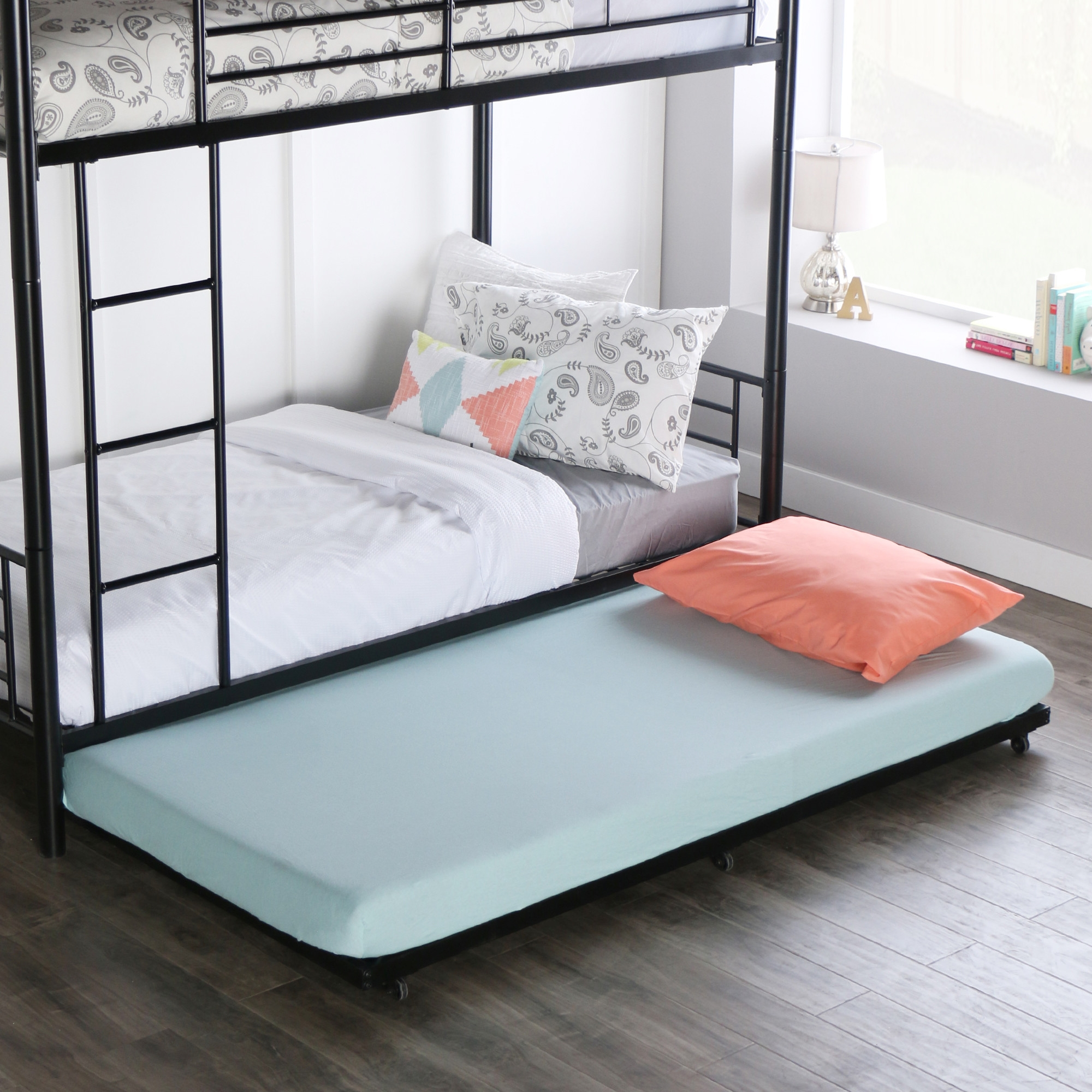 Full Size Roll Out Trundle Bed Frame