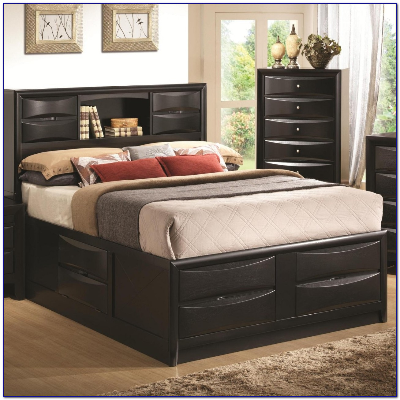 Headboard And Frame For Queen Size Bed