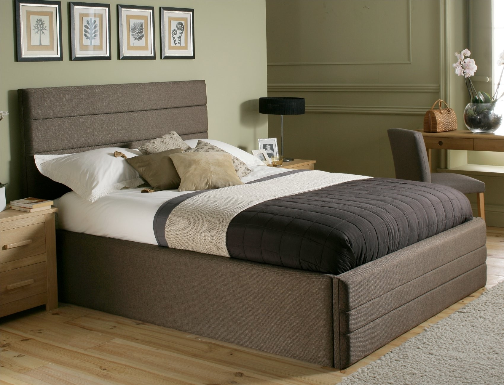 King Bed Frame And Mattress Set