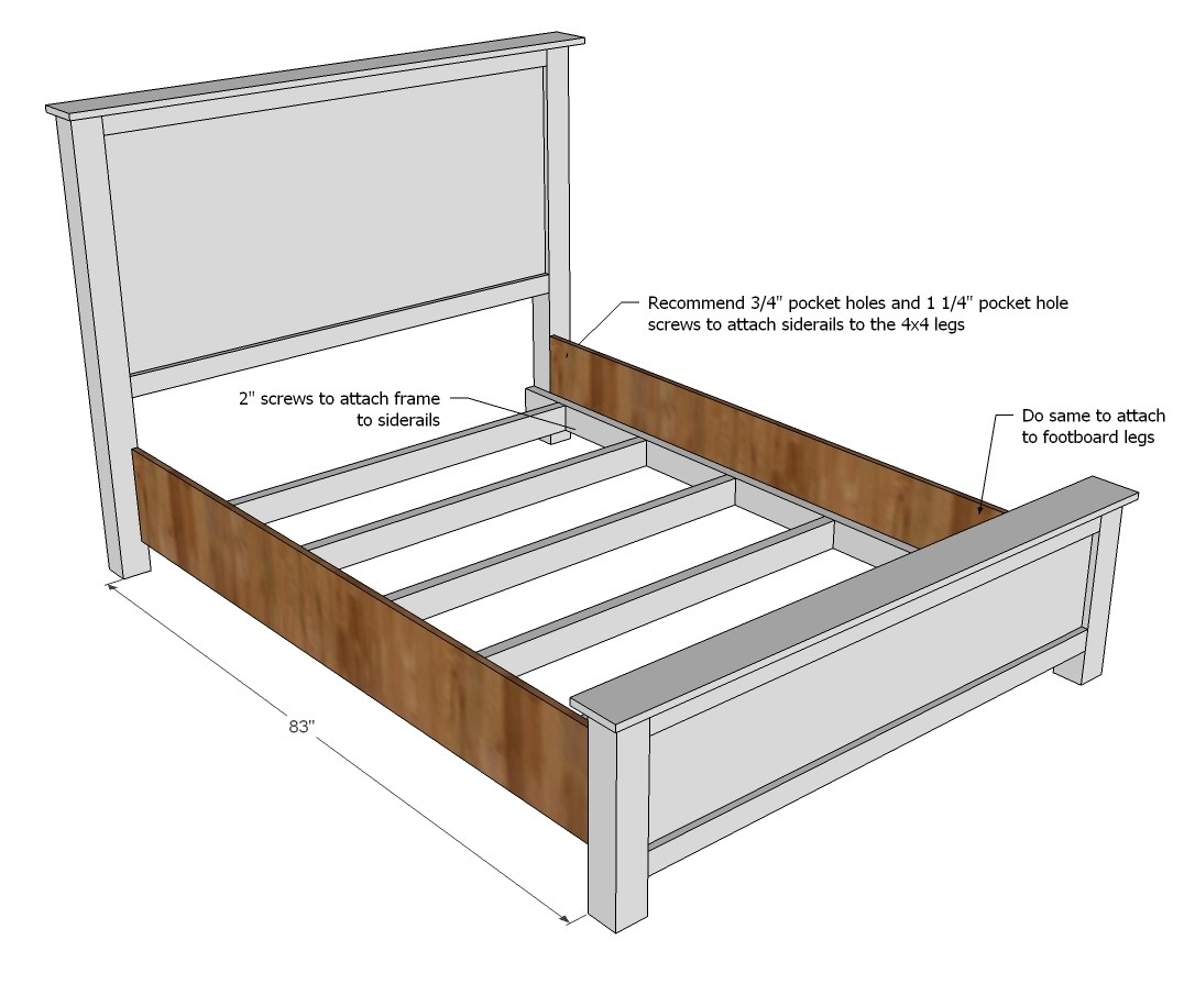 King Bed Frame No Box Spring