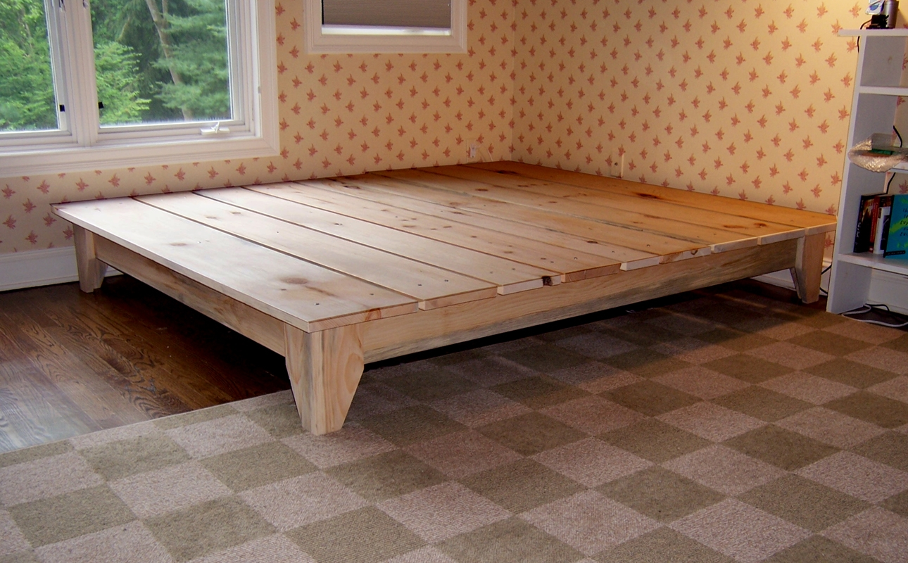 Permalink to King Platform Bed Frames