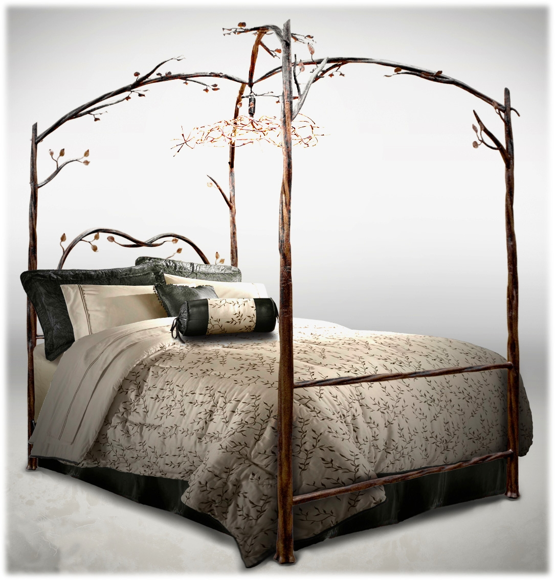 King Size Four Poster Metal Bed Framelovelove it pinteres