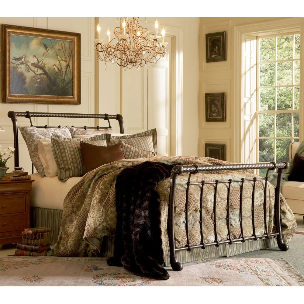 King Wrought Iron Bed Frame