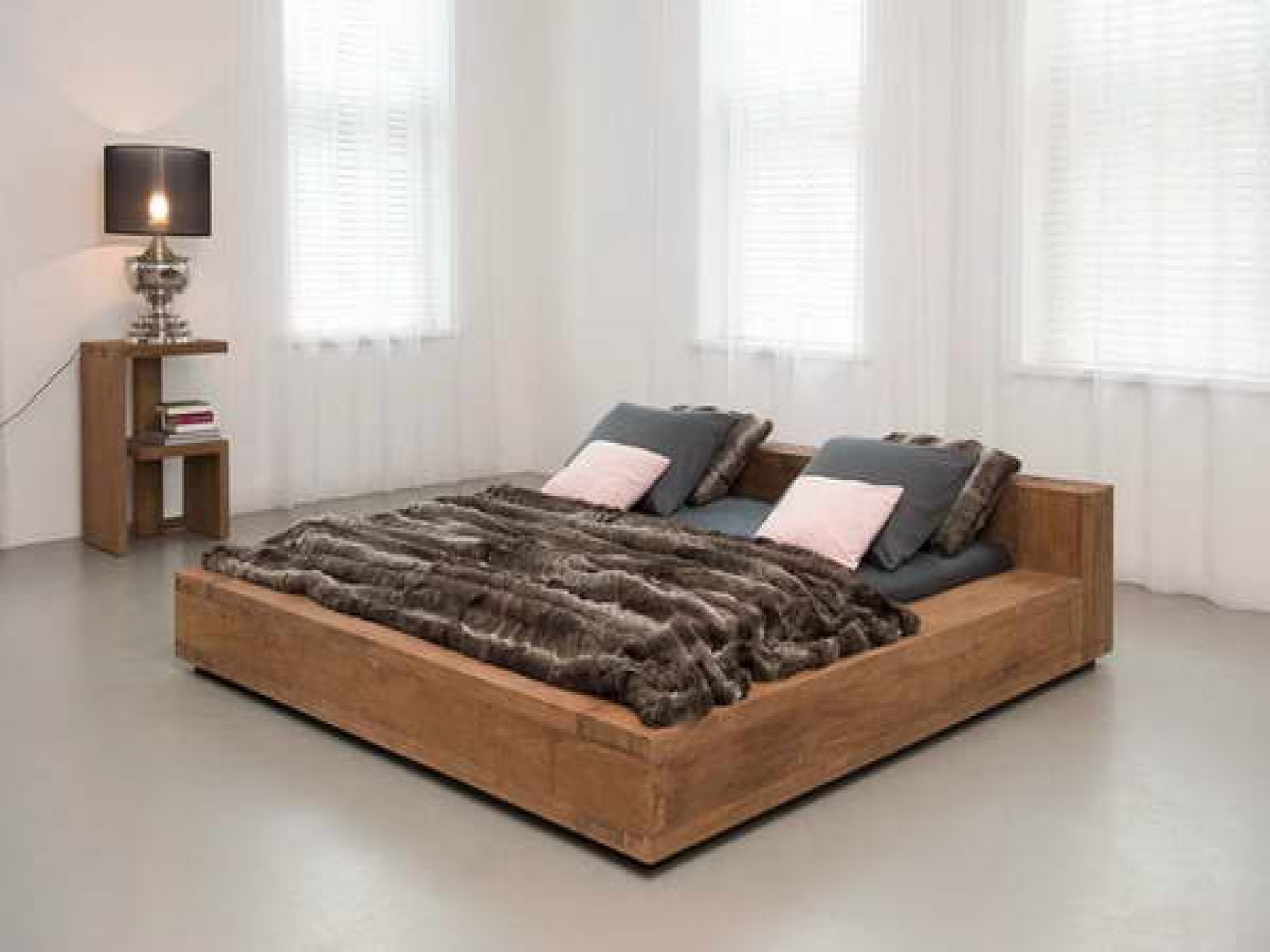 Low King Size Bed Frames