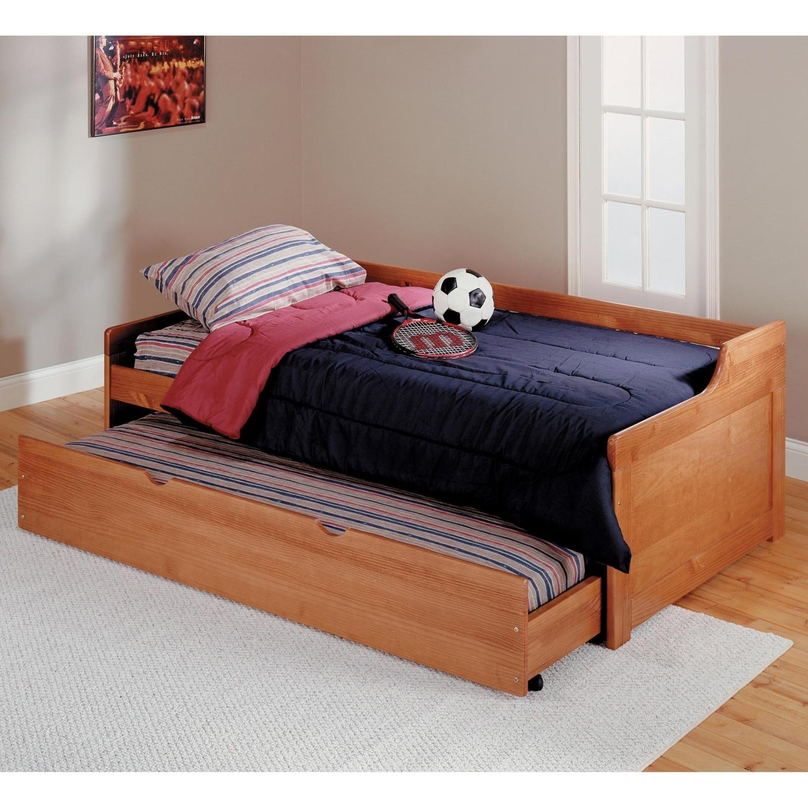 Natural Pine Twin Bed Frame