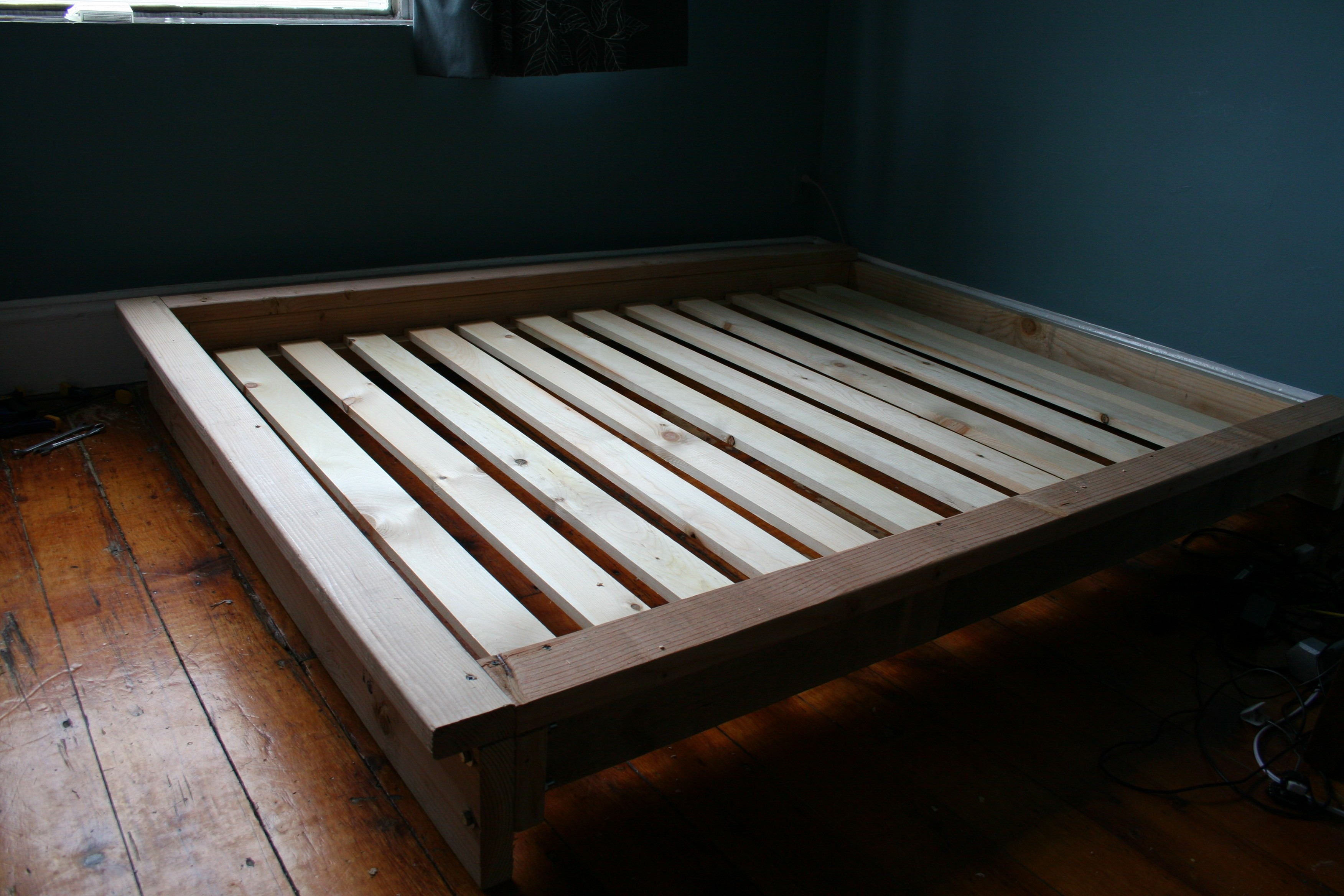 Queen Bed Frame Without Headboard