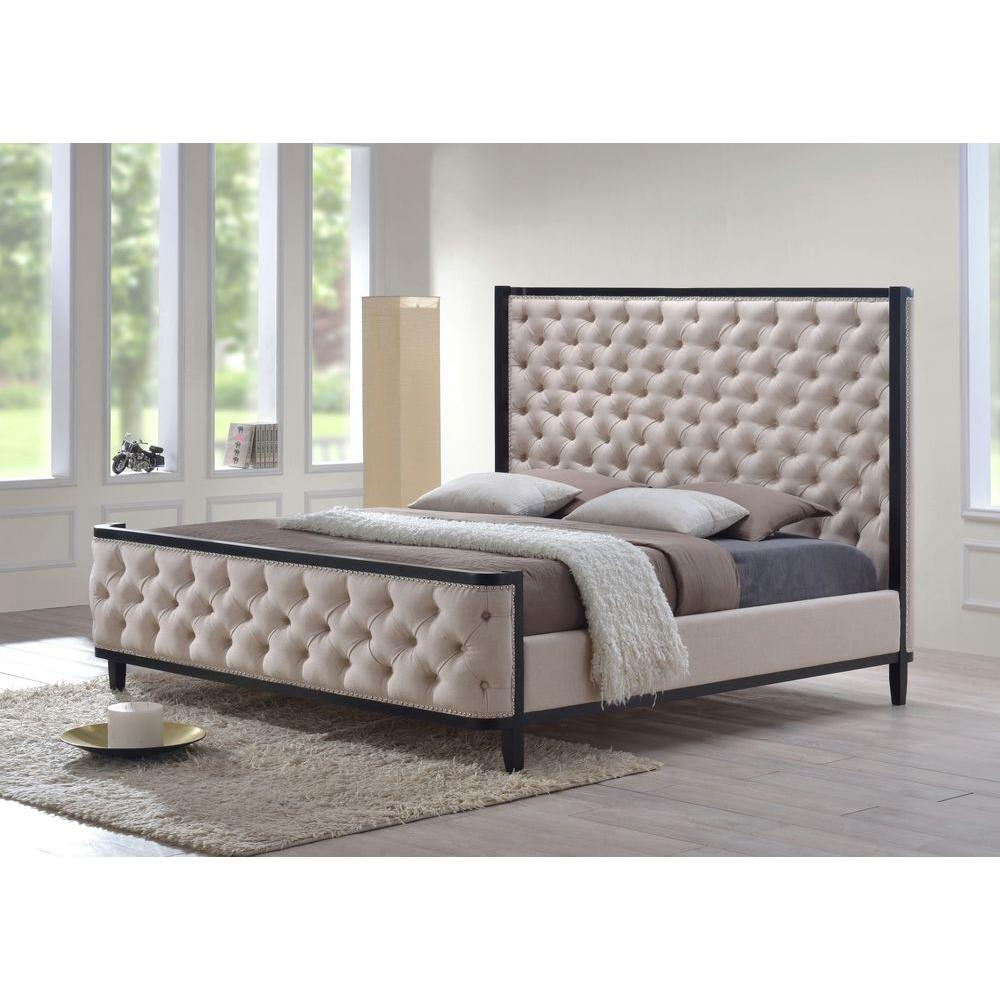 Queen Size Upholstered Bed Frames