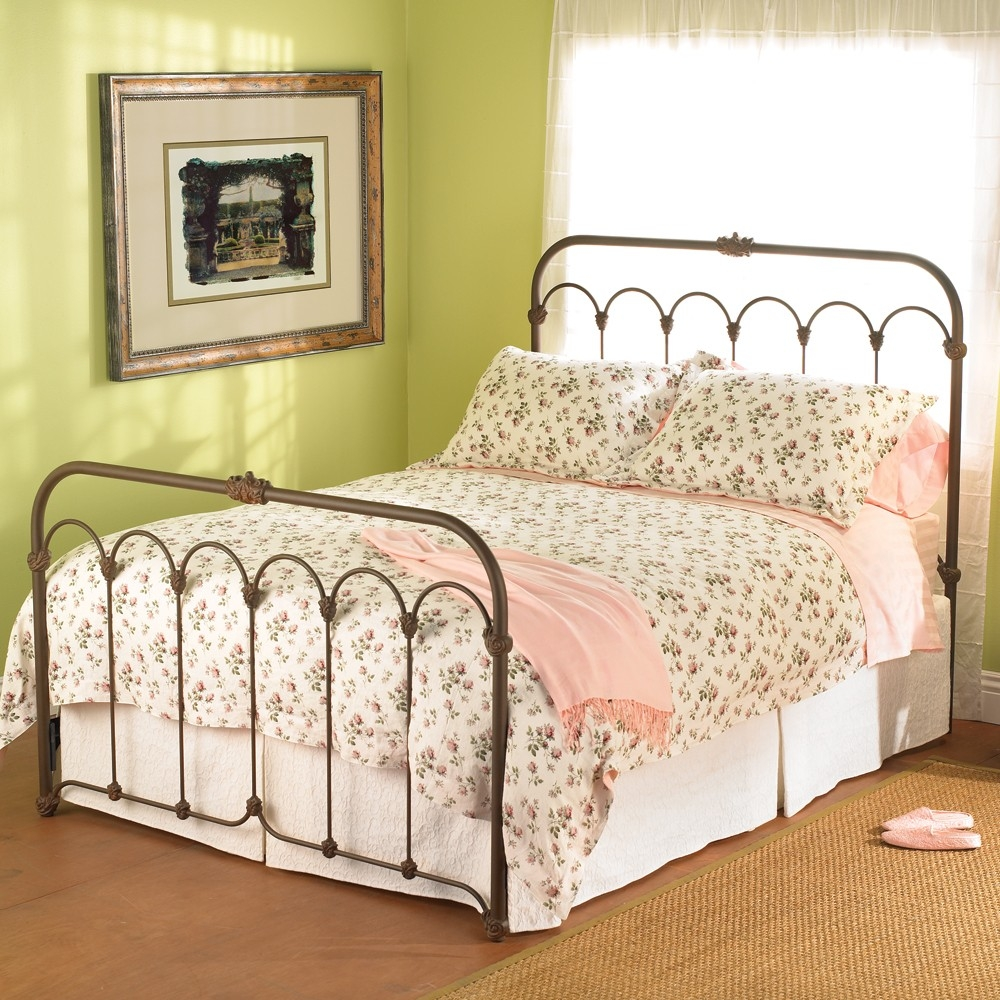 Queen Size Wrought Iron Bed Framefull iron beds metal headboards size bed frames solid wrought