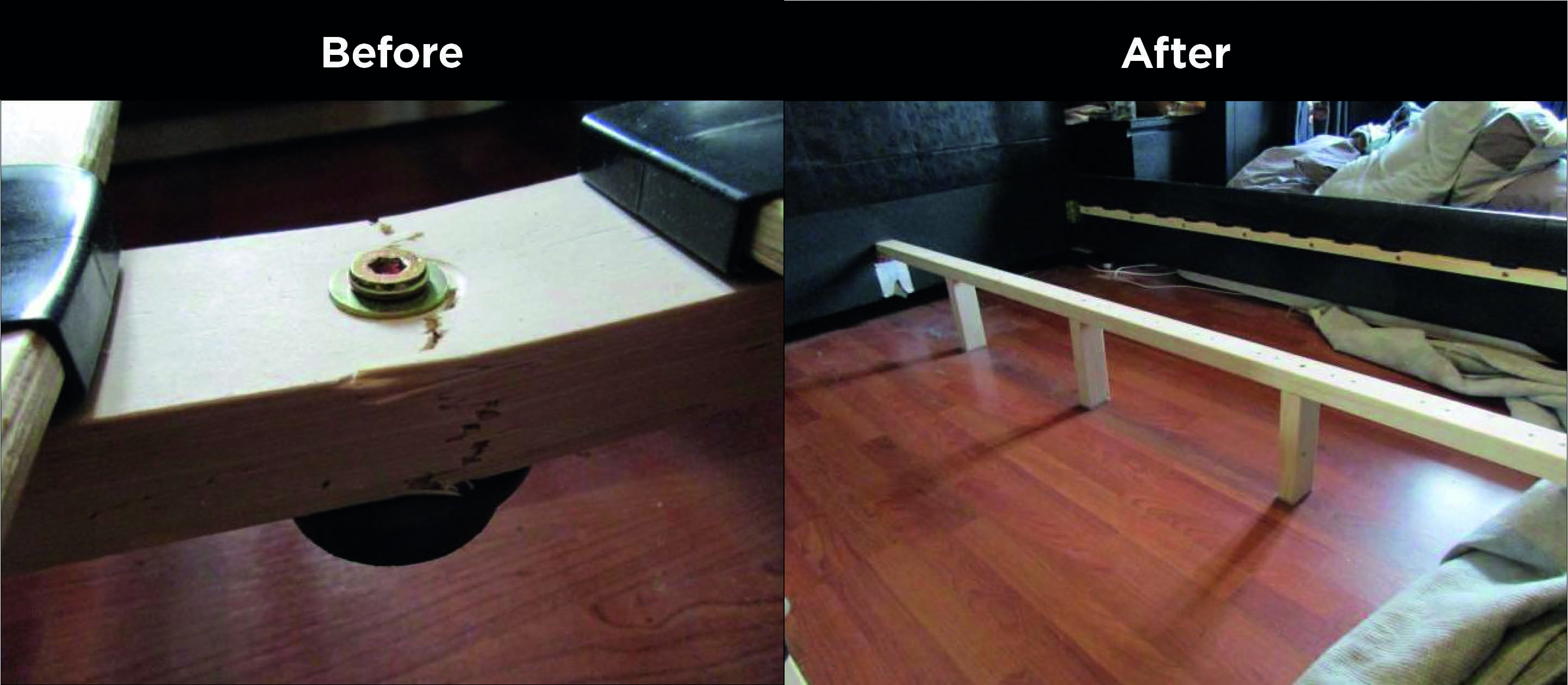 Repairing A Bed Frame