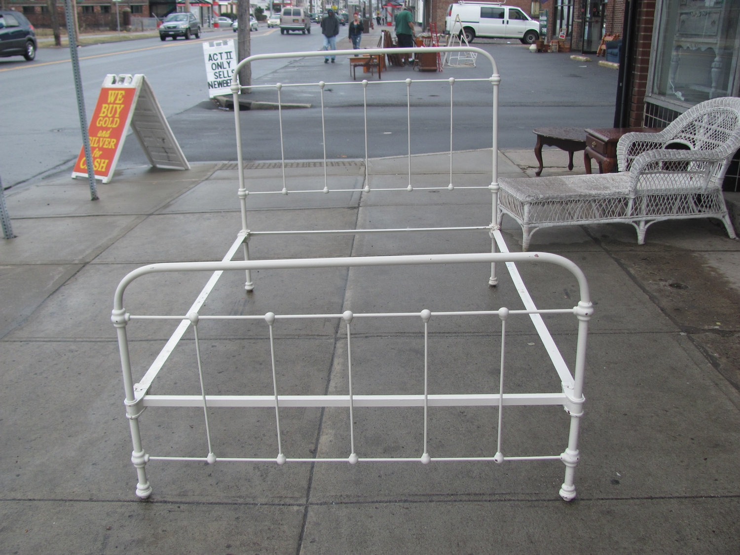Rod Iron Bed Frames Antique